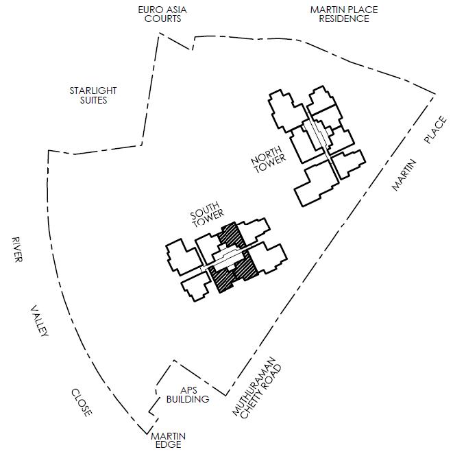 Martin Modern Site Plan Layout